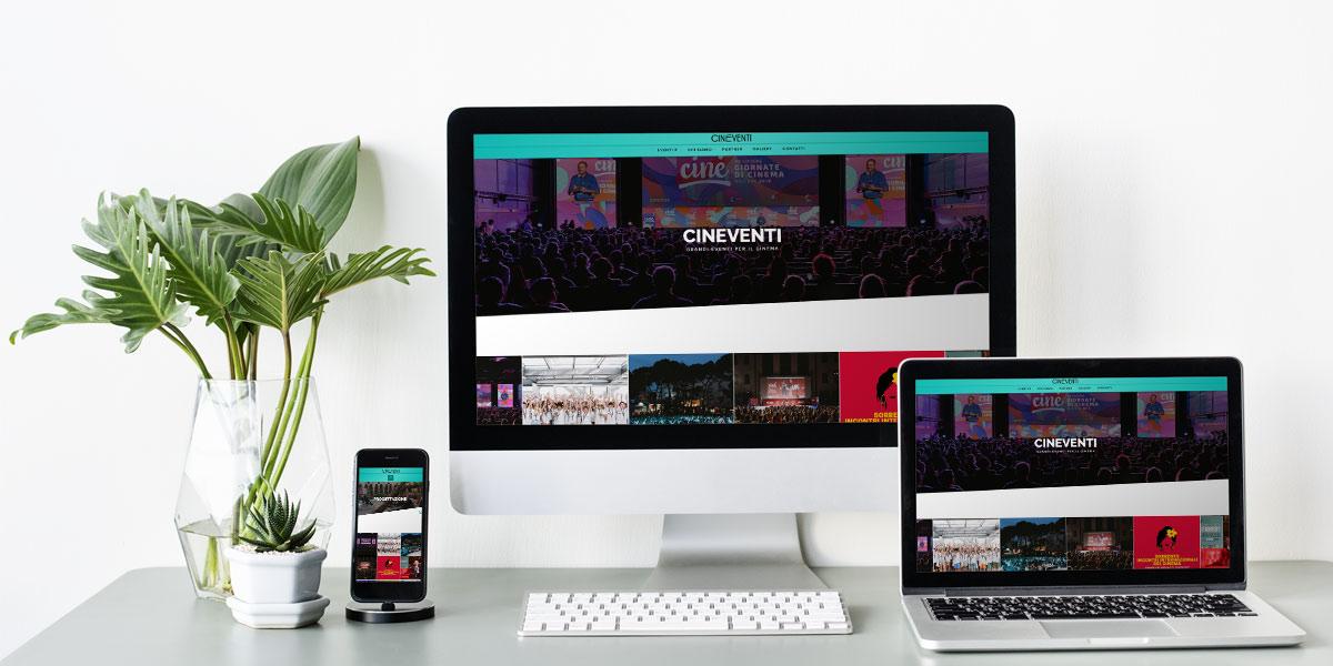 Homepage Cinè