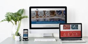 Homepage sito web per FGDEVAB
