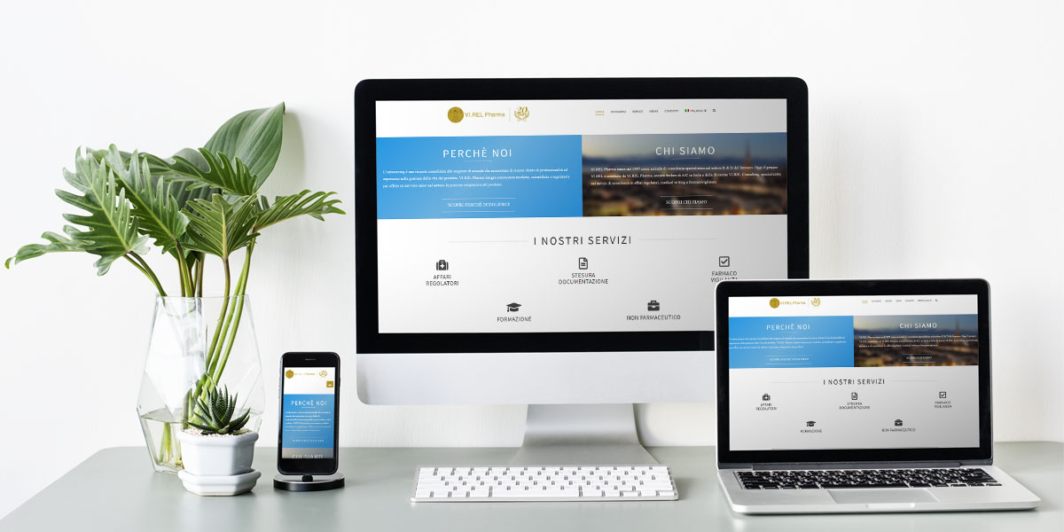 Homepage Virel Pharma